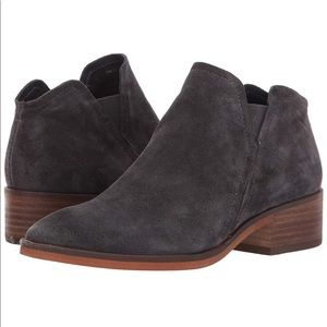 Dolce Vita Tay Suede Bootie in Anthracite, 8